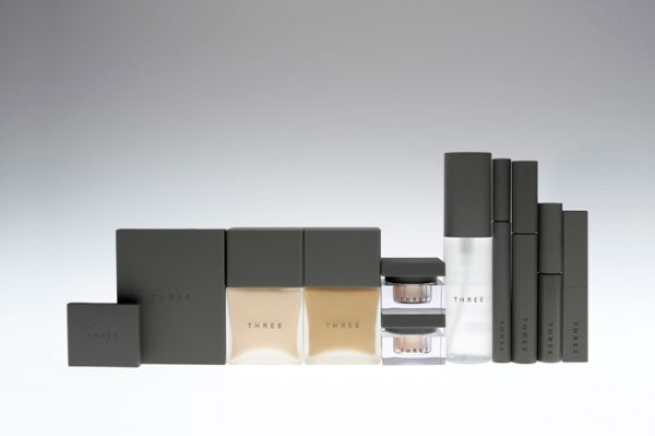 THREEのパッケージデザイン http://www.nendo.jp/jp/works/three/