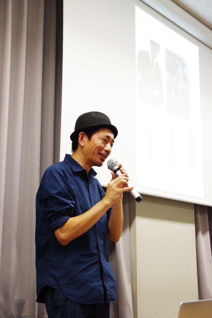 井上重信ゼミでファッションデザイナー小出真人さん(Atelier M/A)をお呼びして講義をして頂きました!