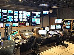 テレビ局の生放送を見学