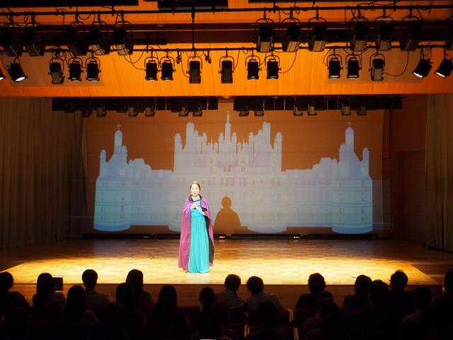 音楽学部とのコラボ:アナ雪ミュージカルの演出