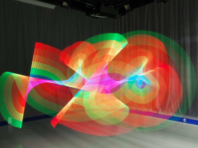 2020年度・天野ゼミ:ライト・ペインティング大会
