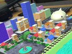 『立体的な街』をイメージした作品